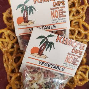 Kimo's Dips Vegetable Herb & Spice Blend