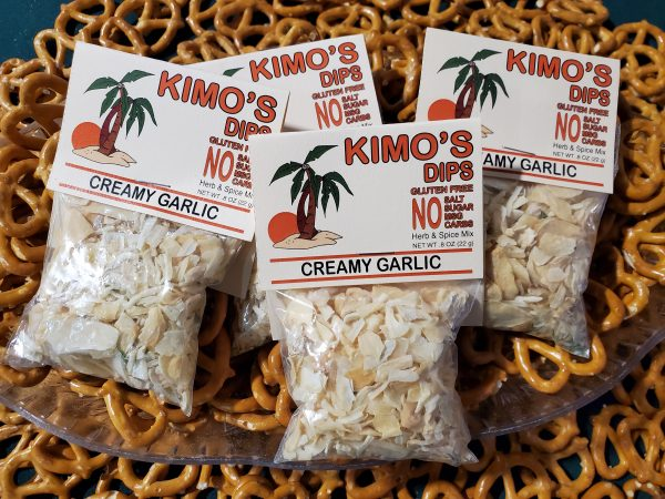 Kimo's Creamy Garlic Herb & Spice Blend
