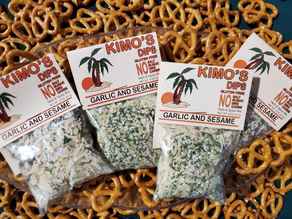 Kimo's Garlic & Sesame Herb & Spice Blend