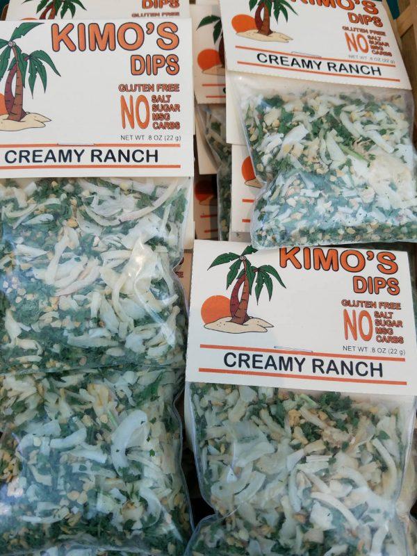 Creamy Ranch Dip & Potato Topping Mix Display