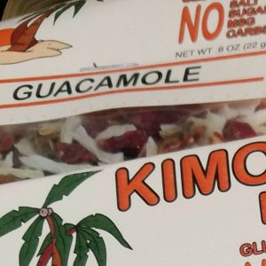 Kimo's Guacamole Dip Mix Display