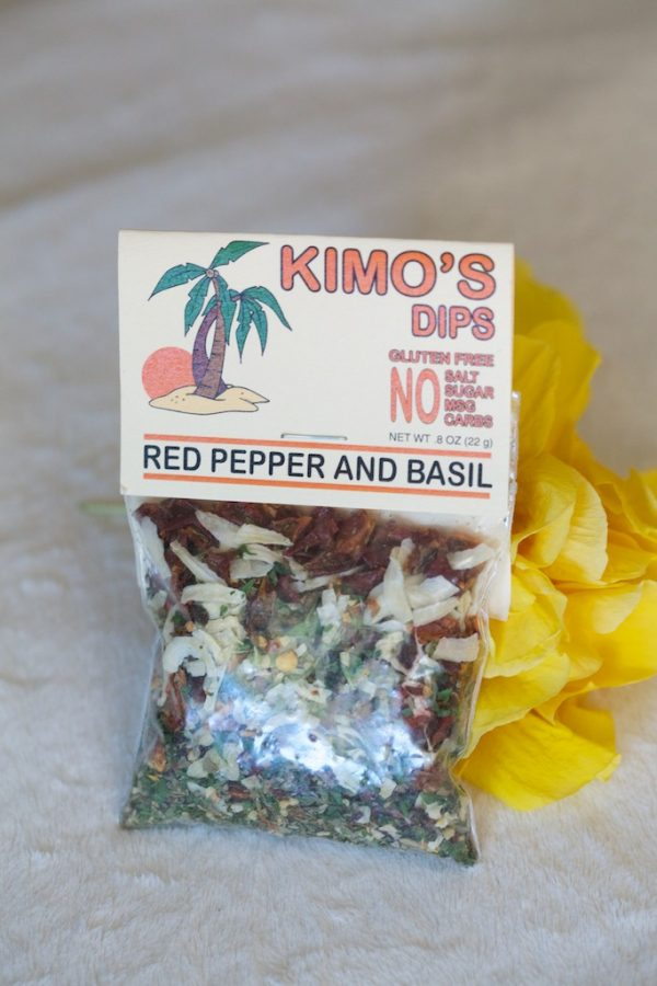 Kimo's Red Pepper & Basil Dip Mix