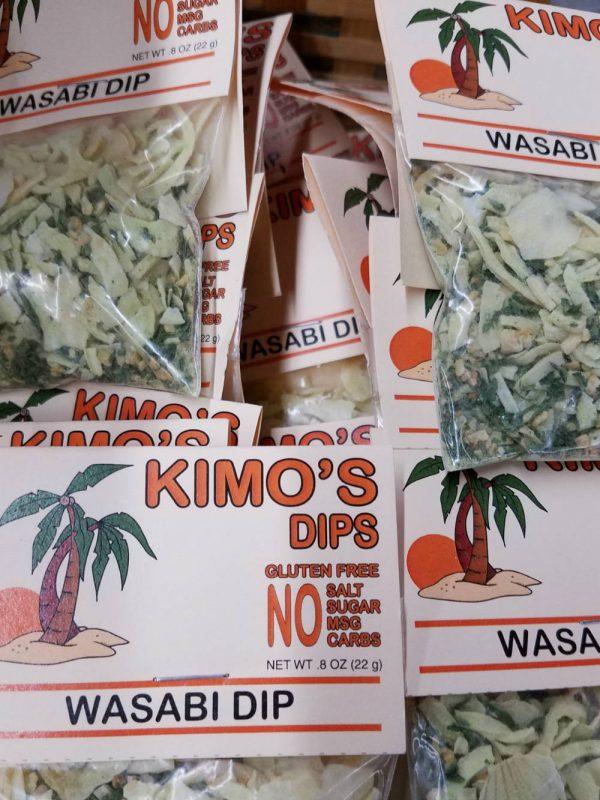 Kimo's Wasabi Dip & Beef Topping Mix